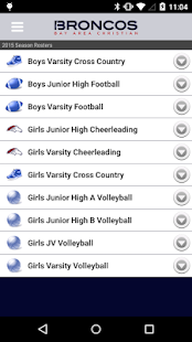 Bay Area Christian Athletics- screenshot thumbnail