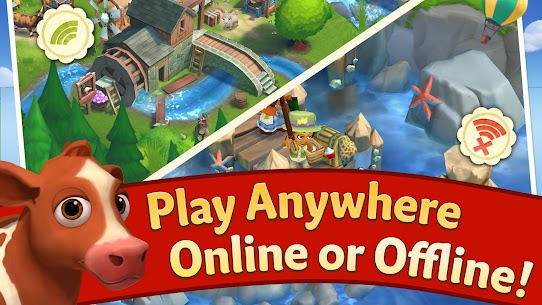FarmVille 2 Country Escape Mod Apk 16.5.6377 (Free Shopping + Gems) 3