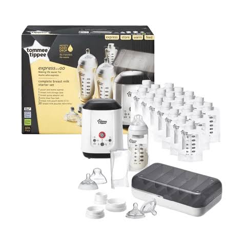 2. TOMMEE TIPPEE Complete Breast Milk Starter Set 02