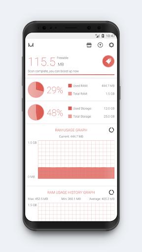 RAM Booster (Memory Cleaner) screenshot 2