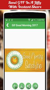 Gif Good Morning 2017 - náhled