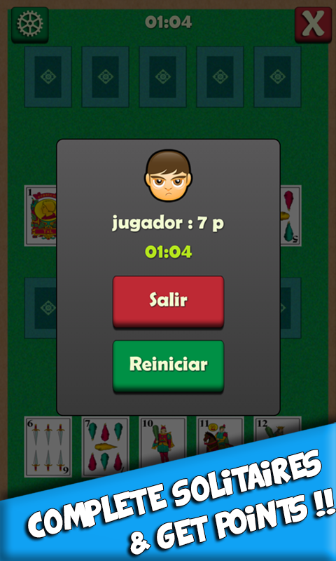 SoLiTaRio- screenshot