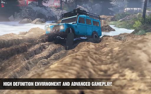 Offroad Cruiser Tough Driving 4x4 Simulation Game 1.0 Mod screenshots 1
