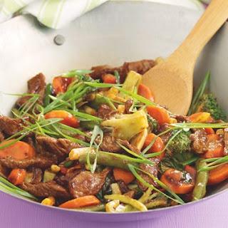 Mongolian Beef Stir-fry.