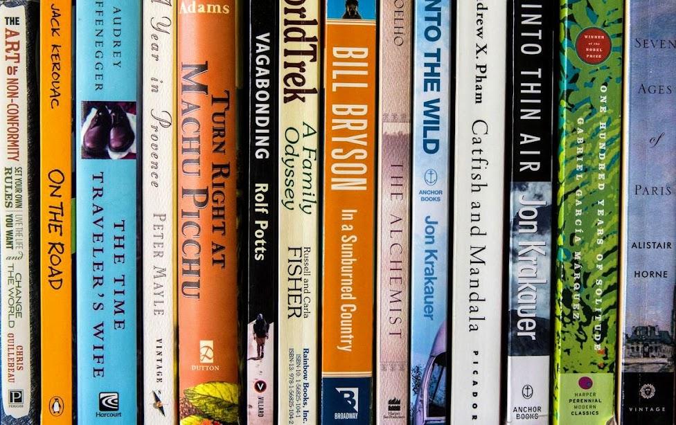 książki podróżnicze, prezenty dla podróżników