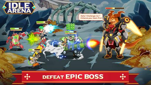 Idle Arena - Clicker Heroes Battle 5007 screenshots 7