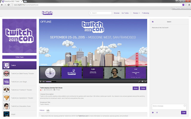 Better Twitch Teams chrome extension