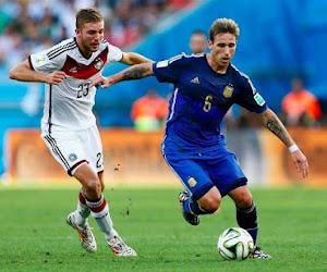 Un streaker lors d'Allemagne-Argentine