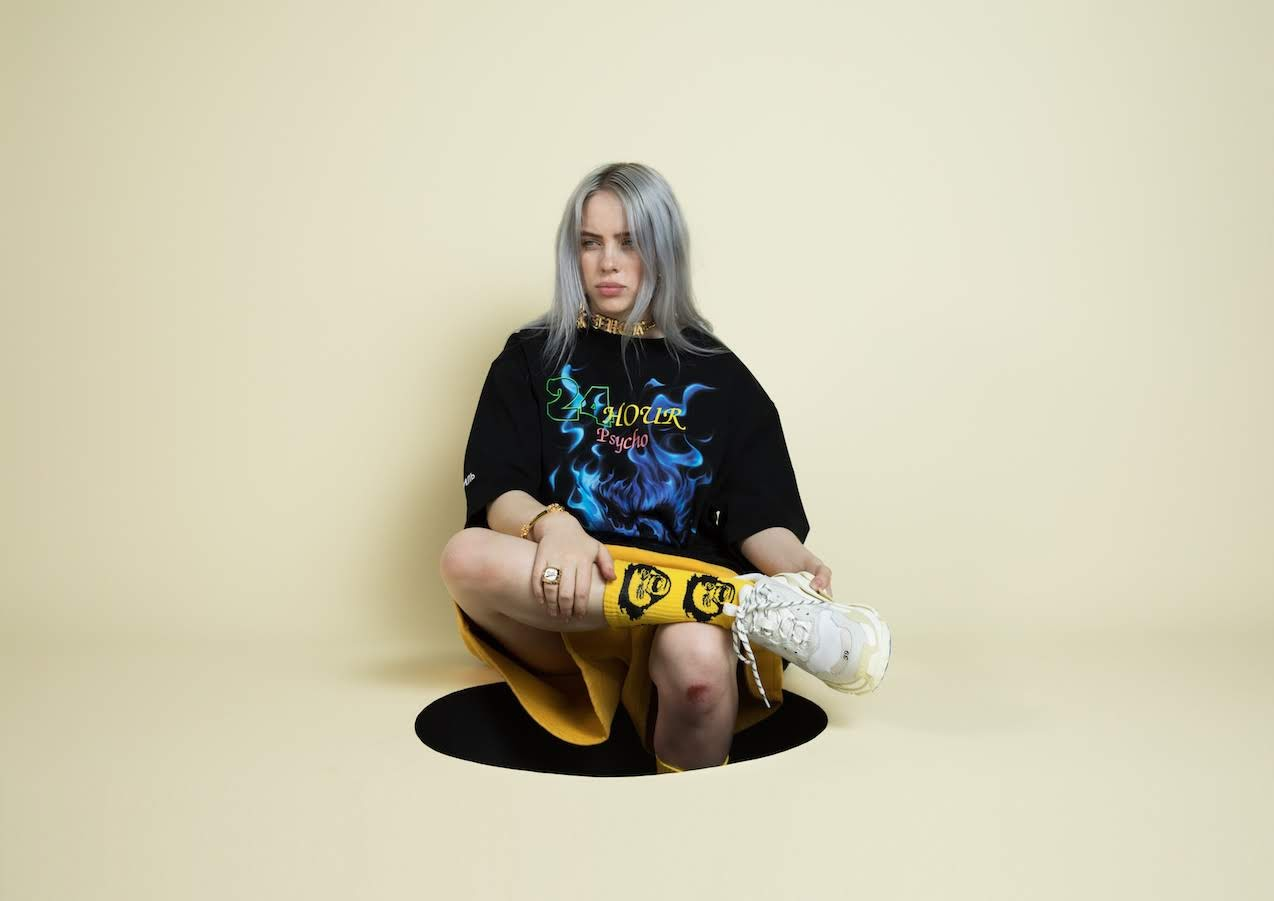 [迷迷音樂] 怪奇比莉 Billie Eilish 翻轉流行音樂  超大型怪奇比莉 4月前進台北潮流聖地西門町