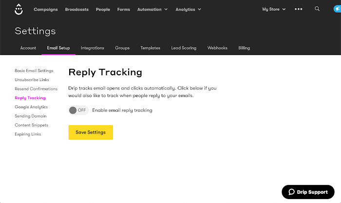 Reply Tracking