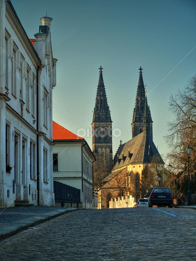Prague, Vyšehrad by Irena Brozova - Buildings & Architecture Other Exteriors ( prague )