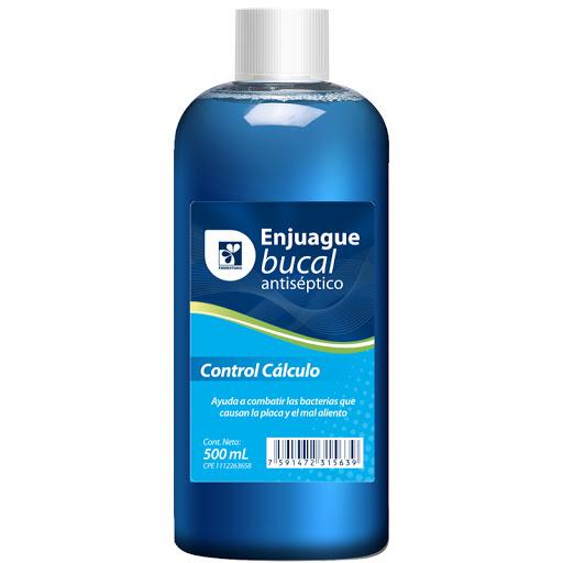 Enjuague Bucal Farmatodo Control Calculo 500Ml