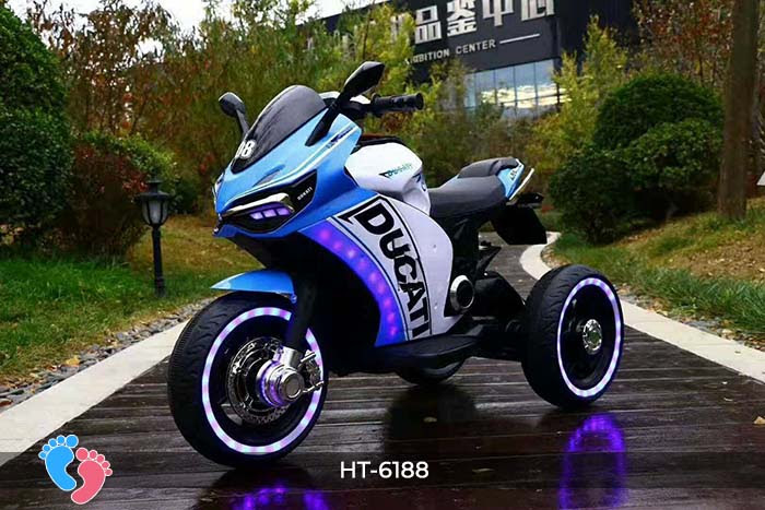 Xe mô tô điện thể thao Ducati HT-6188 6