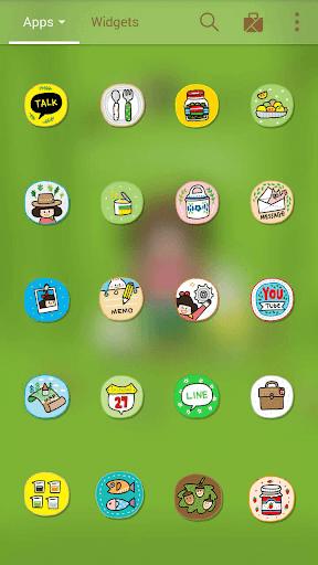 チェリーココキャンプ LINEランチャーテーマ 玩個人化App免費 玩APPs