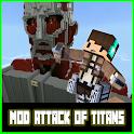 Mod Attack💥 of Titans💥 For Minecraft PE💖 icon