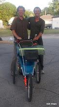 Photo: Glenn Caffery (crossed in 2011) found me in Webster City using my sat tracker