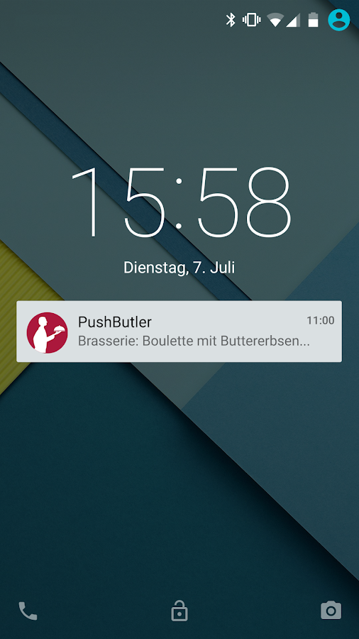 PushButler- screenshot