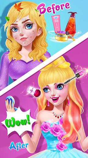 ud83cudf39ud83eudd34Magic Fairy Princess Dressup - Love Story Game 2.1.5000 screenshots 11