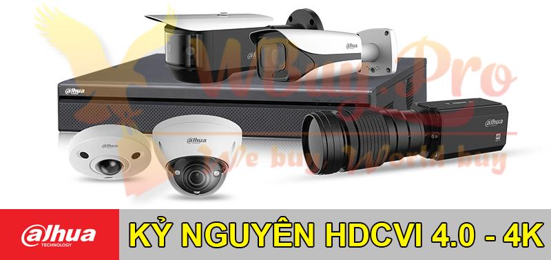 Dahua đưa HDCVI đến kỷ nguyên 4.0 - Công nghệ 4K HDCVI