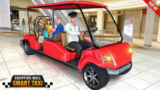 Shopping Mall Smart Taxi: Family Car Taxi Games 1.1 screenshots 6