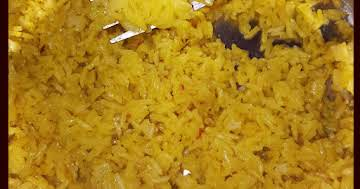 Instant Pot prepackaged yellow rice