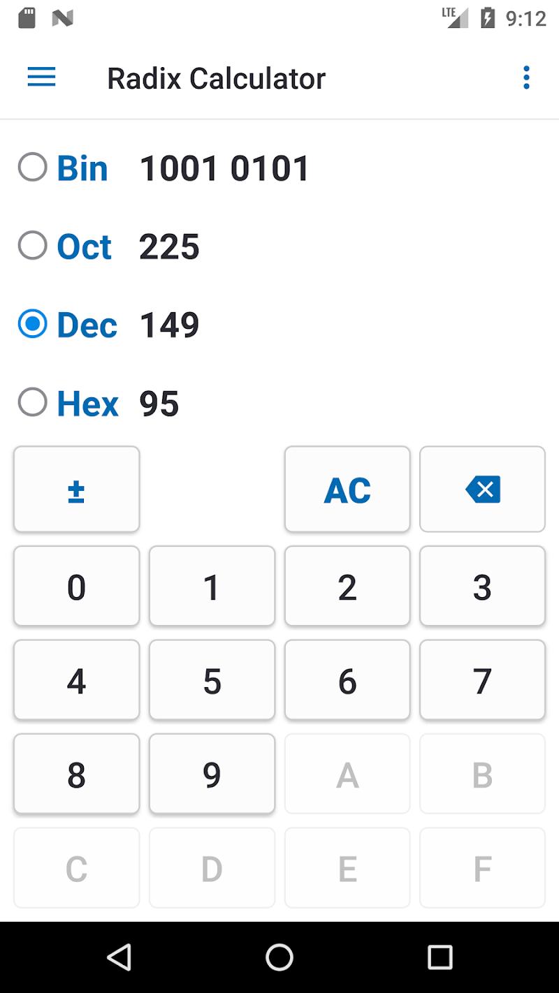 NT Calculator - Extensive Calculator Pro Screenshot 5
