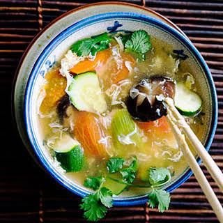 Vegetable Egg-Drop Soup.