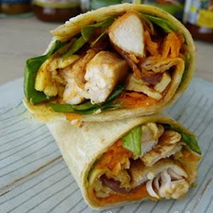 Chicken Tikka Masala Wrap