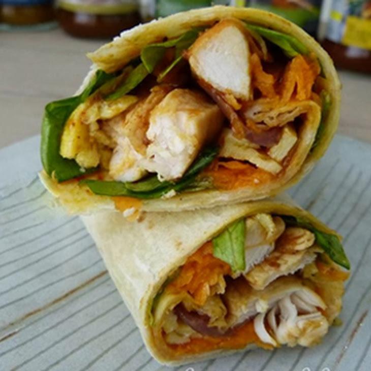 Chicken Tikka Masala Wrap Recipe