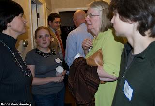 Photo: Rep. Carolyn Dykema, Leah Robins, Peter True, Anna Kung, Jacob Robins