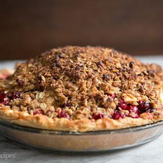 Apple Almond Cranberry Pie
