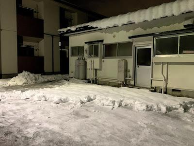 除雪中イメージ写真