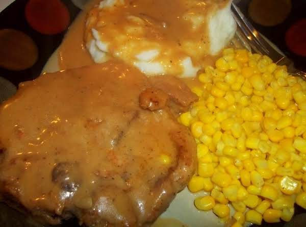 One Pan Smothered Chops
