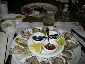 Photo: Oysters... hey this is the Atlantic!