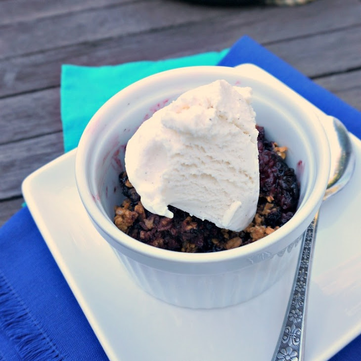 Grilled Mixed Berry Crisp Recipe