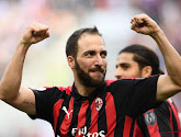 Higuain verlaat AC Milan en trekt tot het einde van het seizoen naar Chelsea