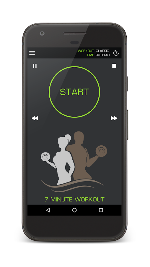 7 Minute Home Workout- screenshot