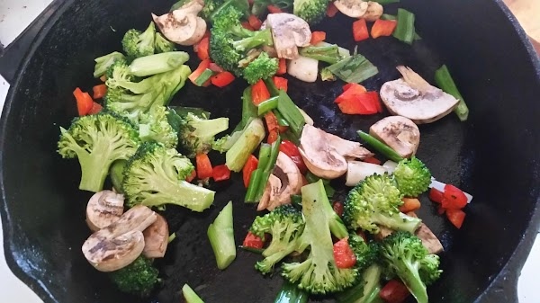 In an oven proof skillet ( a good seasoned iron skillet is what I...