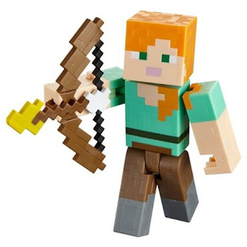Minecraft Action Figure - Arrow Firing Alex, 5""