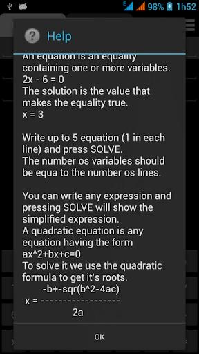 玩教育App|方程式系ソルバー免費|APP試玩