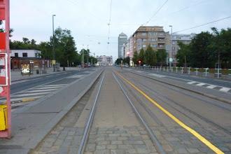Photo: Pohled na Želivského před pátou ráno