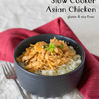 Slow Cooker Asian Chicken (Gluten and Soy Free).