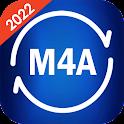 M4A to Mp3 Converter - M4b to mp3 - M4p to mp3 icon