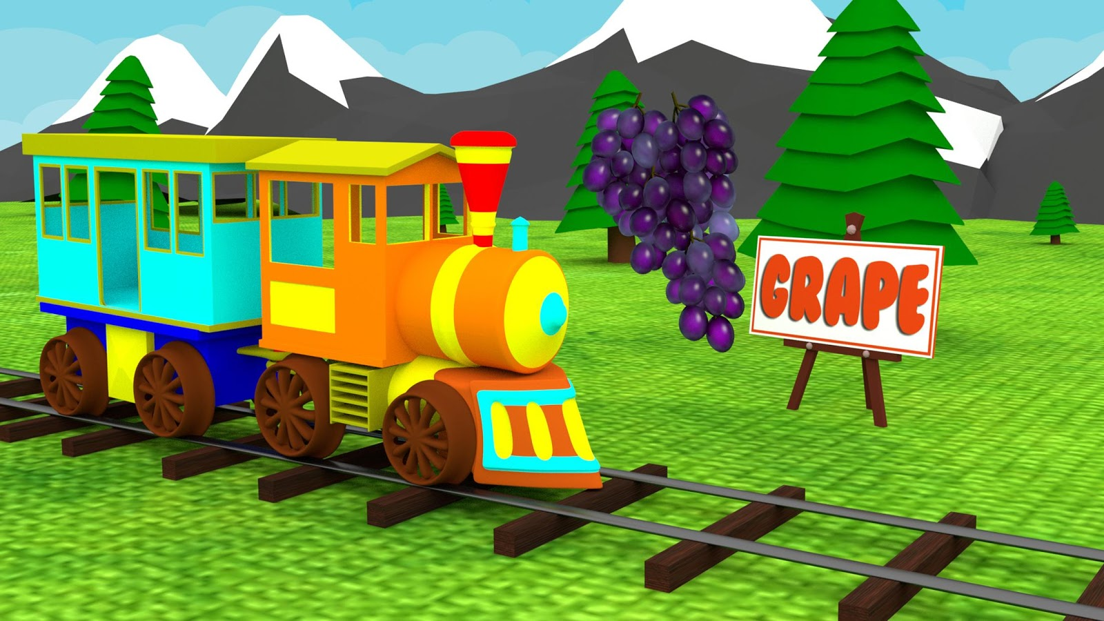 learn fruits u0026 vegetables kids toy train game android apps on