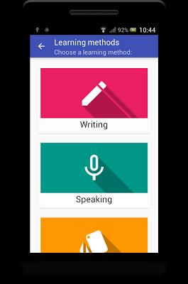 Vocabulary Trainer - screenshot