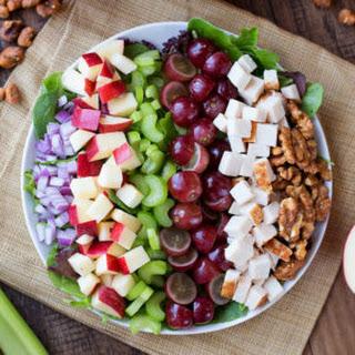 Chicken Apple Walnut Salad Recipe