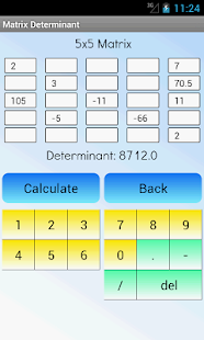 Matrix Determinante Pro Screenshot