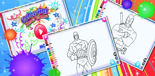 Süper Kahraman Boyama Kitabı Sayfaları Indir Pc Windows Android