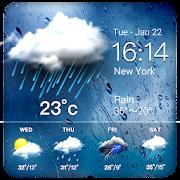 Daily weather forecast widget☂