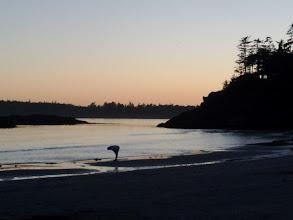 Photo: Mackenzie Beach at sunset
